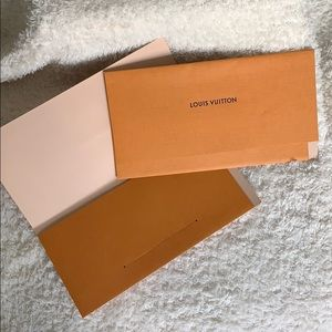 Louis Vuitton Card/Receipt Holder